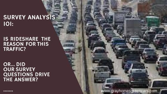 Rideshare Vehicles Increasing Traffic